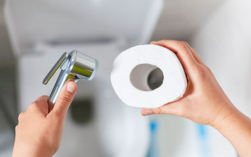 Is Using a Bidet or Toilet shower Healthy?